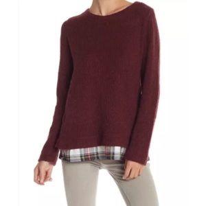 Sanctuary Shirttail Hem Sweater Size Small